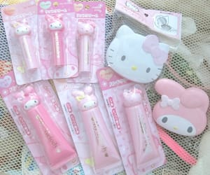 pink, hello kitty, and cute image