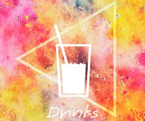colors, insta, and drinks image