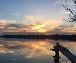 beautiful, clouds, and horizon image