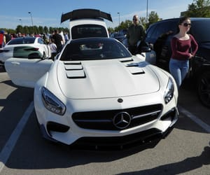 auto, supercar, and sls image