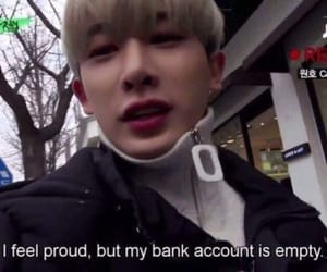 wonho, meme, and kpop image