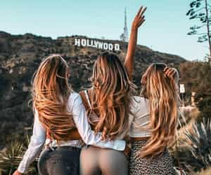 hollywood, girl, and friends image