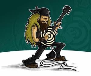 gif, guitar, and guitarist image