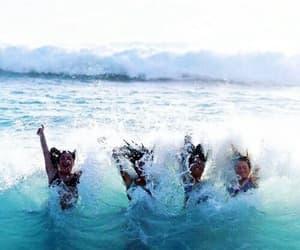 beach, Maldives, and summer image
