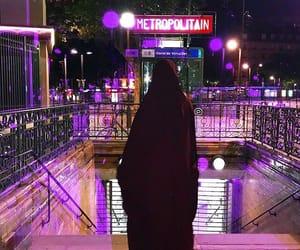 back, girl, and hijab image