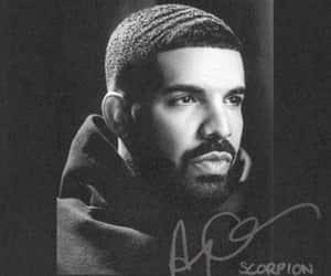 Drake, scorpion, and rap image