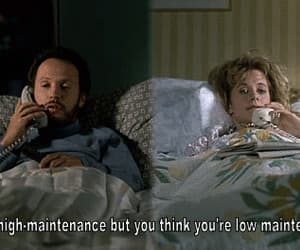 gif, billy crystal, and when harry met sally... image
