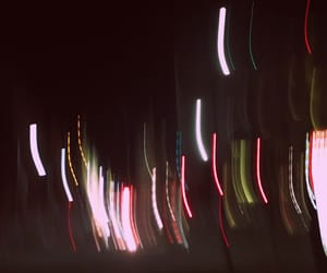 night photography, fluorescent lights, and light image