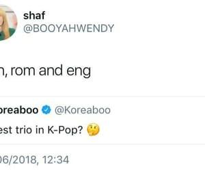 kpop, im tired, and lmao image