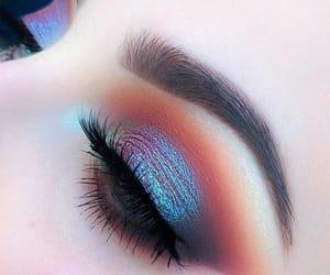 eyes, makeup, and eyeshadow image