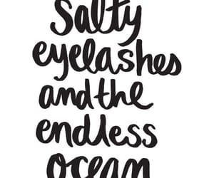 eyelashes and salty image