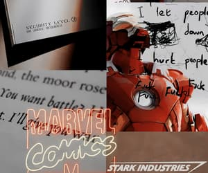 aesthetic, Avengers, and iron man image