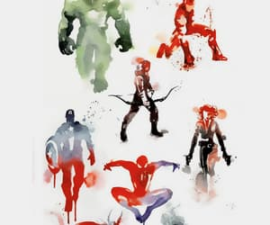 Avengers, Marvel, and black widow image
