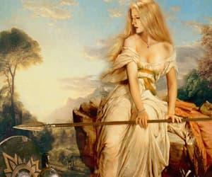 goddess, odin, and love image