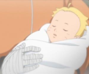 baby, rasengan, and byakugan image