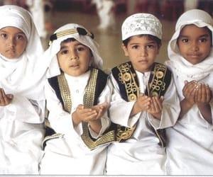islam, muslim, and children image