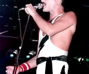 1980s, Freddie Mercury, and iconic image