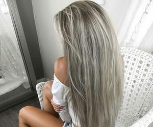 hair, haj, and long hair image