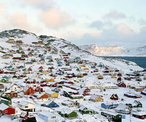 winter, greenland, and snow image