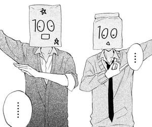 manga, anime, and monochrome image