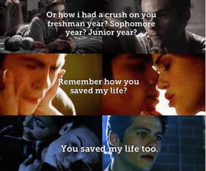 teen wolf, stiles and lydia, and stydia love image