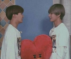 bts, taehyung, and vhope image