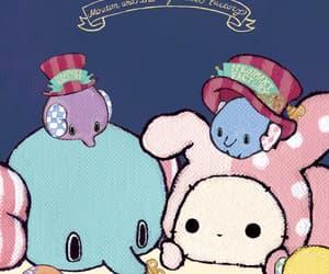 bunny, twins, and circus image