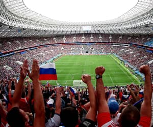 football, russia, and world cup image