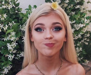loren gray, flowers, and icon image