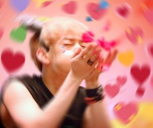 heart, byeongkwan, and heart meme image