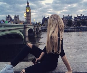 girl and london image