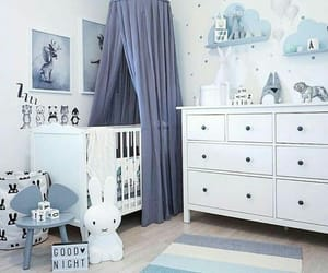 baby, bedroom, and Chambre image