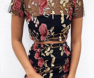 floral and skirt image