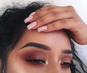 nails, makeup, and make up image