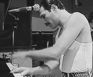Freddie Mercury, music, and the queen image