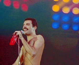 Freddie Mercury, gif, and the queen image