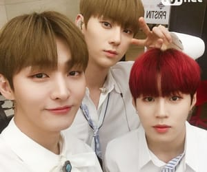 hwang minhyun, ha sungwoon, and lee daehwi image