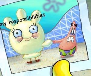 patrick, spongebob, and funny image