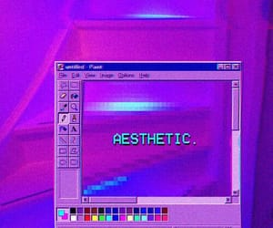 aesthetic, blue, and colored image