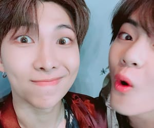 bts, rm, and v image