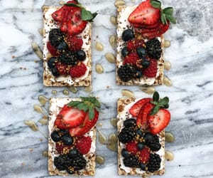balsamic, berry, and bread image