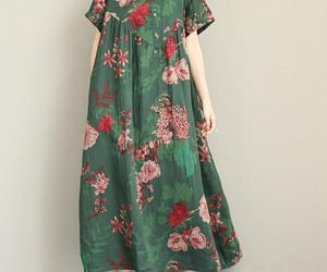 etsy, green dress, and women dresses image