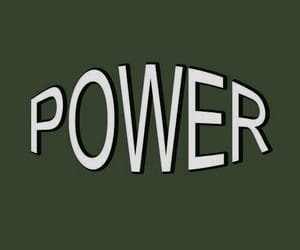 green, power, and aesthetic image