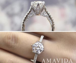 engagement, jewerly, and nails image