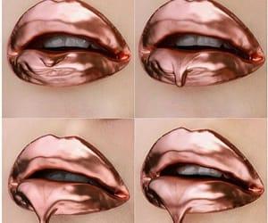 aesthetic, lips, and lipstick image