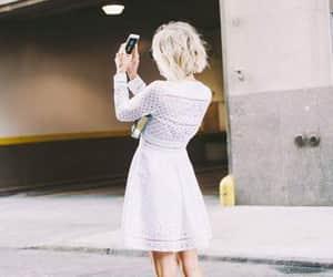 dress, girls, and heels image