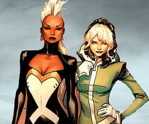 storm, x-men, and anna marie raven image