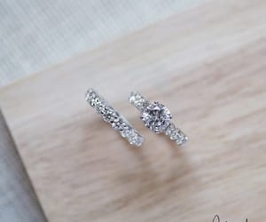 diamond, engagement ring, and engagement image
