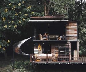 home and lake image