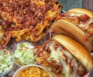 food porn, goals, and burguer image